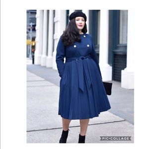 Lane Bryant Girl with Curve Trench Dress